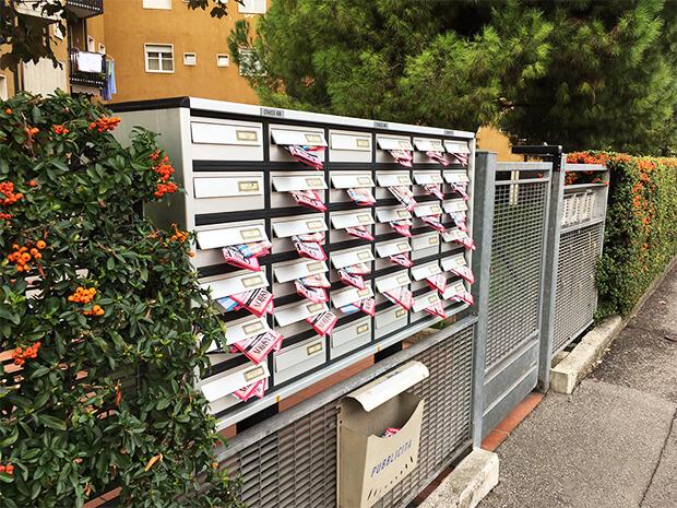 Distribuzione volantini Bergamo