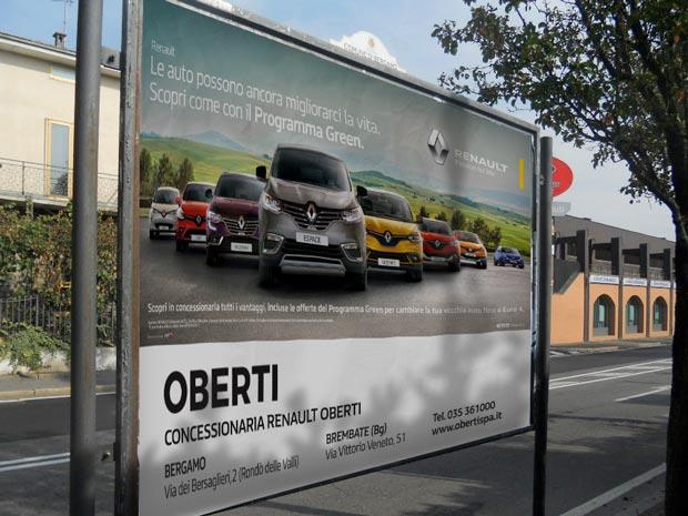 Affissioni a Bergamo - Obiettivo Vendita