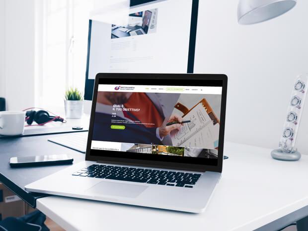 Siti web e social media marketing a Bergamo - mockup sito